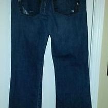 Ladies Paint-Splashed Bcbg Max Azria Jeans 31 In. Low Rise Photo