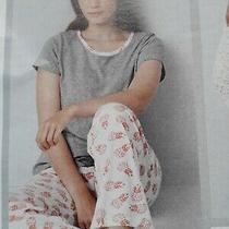 Ladies Pineapple Print Avon Pyjamas Size 16 to 18 New Photo