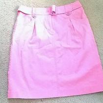 Ladies Pink Talbots Stretch Mini Skirt Size 10 (Pre-Owned)  Photo