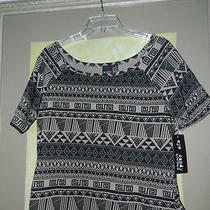 Ladies Plus Size Shirt Top Eye Candy by One Step Up 1x Mini Top  Photo