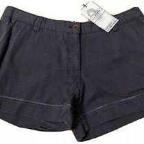 Ladies Puma Nuala by Christy Turlington Chino Shorts Size Medium Navy Nwt Photo