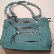 Ladies Rosetti Sea Blue Shoulder Bag/handbag Purse   Photo