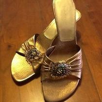 Ladies Sandals Metallic Photo