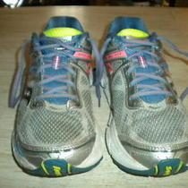 Ladies Saucony Omni 14 Gray/orange Shoes 10 M (Eu42) Photo