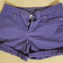 Ladies Shorts by Vera Wang Size 6 Color Periwinkle in Excellent Condition Photo