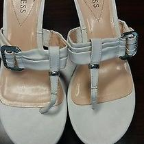 Ladies Size 10 Guess Wedge Sandals Photo