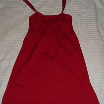 Ladies Size 10 Minkpink Red Dress  Photo