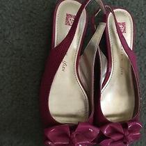 Ladies Size 6 Anne Klein Slingback Flats  Photo
