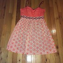 Ladies Size 6 Fossil Spaghetti Strap Corset Top Dress Photo