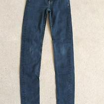 Ladies Size 8 Dark Blue Regular Length Skin Tight Jeans by French Connection Photo