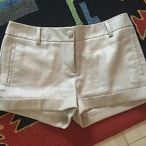 Ladies Size 8 Express Silver Shorts - Beautiful Shine & in Perfect Shape Photo