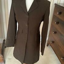 Ladies Size 8 Inwear Fully Lined Formal Coat Excellent Condition Brown Colour Photo