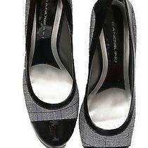 Ladies Size 9.5 Medium Plaid Bandolino Pumps - Brand New Photo
