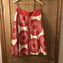 Ladies Skirt .monsoon Size 12 .silk Mix .fully lined.size 12 Excellent Condition Photo