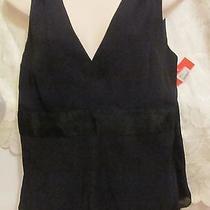 Ladies Sleeveless  Isaac Mizrahi Dressy Black Lined Large Dressy Fun Photo