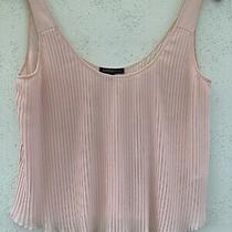 Ladies Sleeveless Top Size 10 From  m&s.limited Edition Blush With Detail Photo
