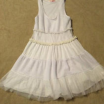 Ladies Sleeveless White Babydoll Vintage-Inspired Dress by Blush  Sz Medium Photo