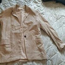 Ladies Striped h&m Blazer  Size 4 Photo