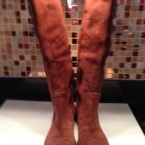 Ladies Suede Boots Photo