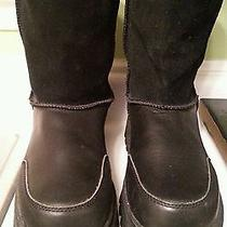 Ladies Sz 9 1/2...skechers Outdoor Boots...nwot Photo
