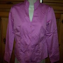 Ladies Talbots Brand Top Shirt Blouse Size 6 Photo