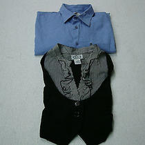 Ladies Trixxi Blouse Size Large & Armani Exchange Size Large Photo