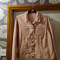 Ladies Tu Blush Denim Jacket Size 18 Bwot Photo