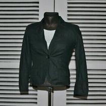 Ladies Versace Black Blazer Jacket Size 28/42 Photo