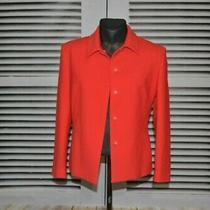 Ladies Versace Versus Vintage Red Blazer Jacket Size 32/46 Photo