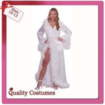 Ladies Vintage Hollywood Screen Diva Marilyn Monroe Robe Fancy Dress Costume Photo