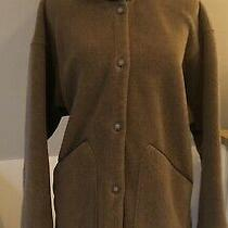 Ladies Vintage Patagonia Fleece Jacket- Brown With Chocolate Brown Accents-Sz-M Photo
