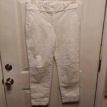 Ladies White Pants Sz 8 by Talbots Photo