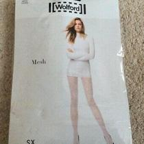 Ladies Wolford Black Lacy Tights - Uk Xs - New  Photo