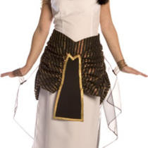 Ladies Womens Cleopatra Egyptian Queen Fancy Dress Costume - Sizes Small & Med Photo