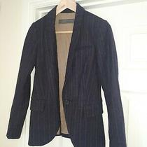 Ladies Zara Maroon Blazer Size Xs Photo