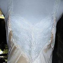 Lady Cameo Women's Size M Blush Camisole With Lovely Lace & Lace Straps Photo