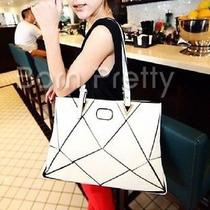 Lady's Trendy Unique Pu Totes Handbag Vintage Hobo Shoulder Bag Photo