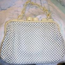 Lady's Vintage Whiting Davis Alumimesh Purse/plastic Handle and Closure Photo