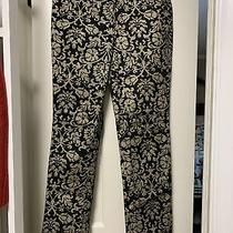 Lafayette 148 Black and Gold Pants Size 8 Photo