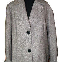 Lafayette 148 Black Gray Tweed Suit Jacket Blazer Women's Sz 12 Euc  Photo