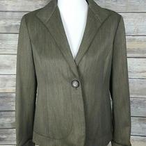 Lafayette 148 New York Women's 6 Virgin Wool Blend Single Button Blazer Jacket  Photo