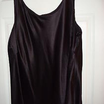 Lafayette 148 Silk Tank Black Size 20  Never Worn Photo