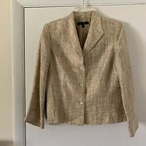 Lafayette 148 Womens Linen/silk Blazer Sz 12 Photo