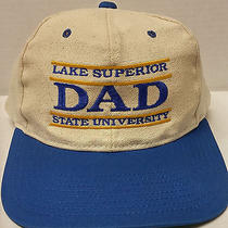 Lake Superior State University Snapback Hat Dad Soo Lakers Ncaa Cap Lssu Vintage Photo
