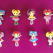 Lalaloopsy New Jibbitz Bracelet or Croc Shoe Charms Accessories Crumbs Holly Mit Photo