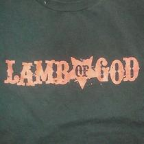 Lamb of God Shirt. Rare Photo