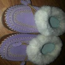 Land's End Children's Slippers Size 2 Photo