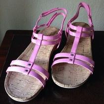Lands' End Big Girl Shoes Size 7 Us Uk 6 Eu 39 New Ship Free Light Sandals Photo