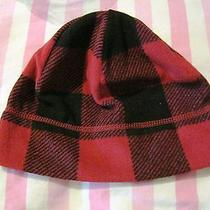 Lands End Boy's Thermacheck 100 Hat (Red Checkered) Medium Free Shipping Photo