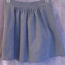 Lands End Girls New Charcoal Gray a-Line Skort w) Stretch Waist Size 14 Photo